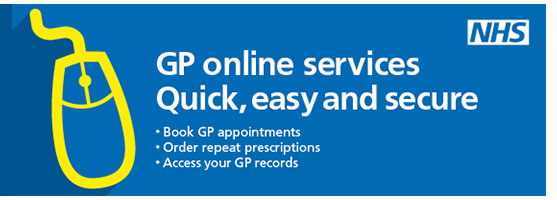 GP Online Services. Quick, easy and secure. Book GP appointments. Order repeat prescriptions. Access your GP records